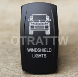 CONTURA V, JEEP GRAND CHEROKEE WINDSHIELD LIGHTS, LOWER LED INDEPENDENT