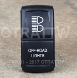 CONTURA XIV, OFF-ROAD LIGHTS, LOWER LED INDEPENDENT