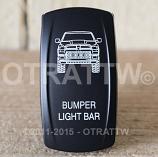CONTURA V, DODGE RAM BUMPER LIGHT BAR, ROCKER ONLY