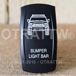 CONTURA V, FJ CRUISER BUMPER LIGHT BAR, UPPER DEPENDENT LED ONLY