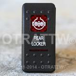CONTURA II, REAR LOCKER, RED LENS, ROCKER ONLY