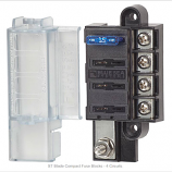 Blue Sea ST Blade Fuse Block with cover