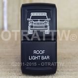 CONTURA XIV, JEEP GRAND CHEROKEE ROOF LIGHT BAR, UPPER LED INDEPENDENT