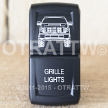 CONTURA XIV, FORD F-150 GRILLE LIGHTS, LOWER LED INDEPENDENT