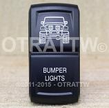 CONTURA XIV, JEEP JK BUMPER LIGHTS, UPPER DEPENDENT LED ONLY