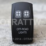 CONTURA V, SQUADRON LED LIGHTS, UPPER DEPENDENT LED ONLY