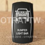 CONTURA V, CHEVY BUMPER LIGHT BAR, LOWER LED INDEPENDENT