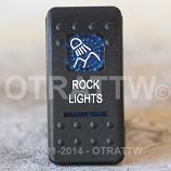 CONTURA II, ROCK LIGHTS, BLUE LENS, ROCKER ONLY