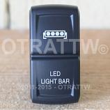 CONTURA XIV, LED SINGLE LIGHT BAR, UPPER DEPENDENT LED ONLY