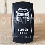 CONTURA V, FJ CRUISER BUMPER LIGHTS, LOWER LED INDEPENDENT