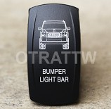 CONTURA V, JEEP GRAND CHEROKEE BUMPER LIGHT BAR, UPPER LED INDEPENDENT