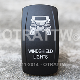 CONTURA V, JEEP JK WINDSHIELD LIGHTS, ROCKER ONLY